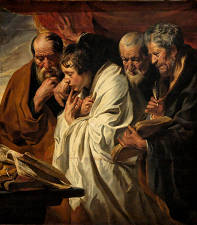 The Four Evangelists by Jacob Jordaens