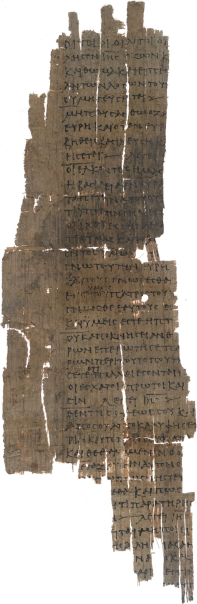 One of only three Greek manuscripts of the Gospel of Thomas
